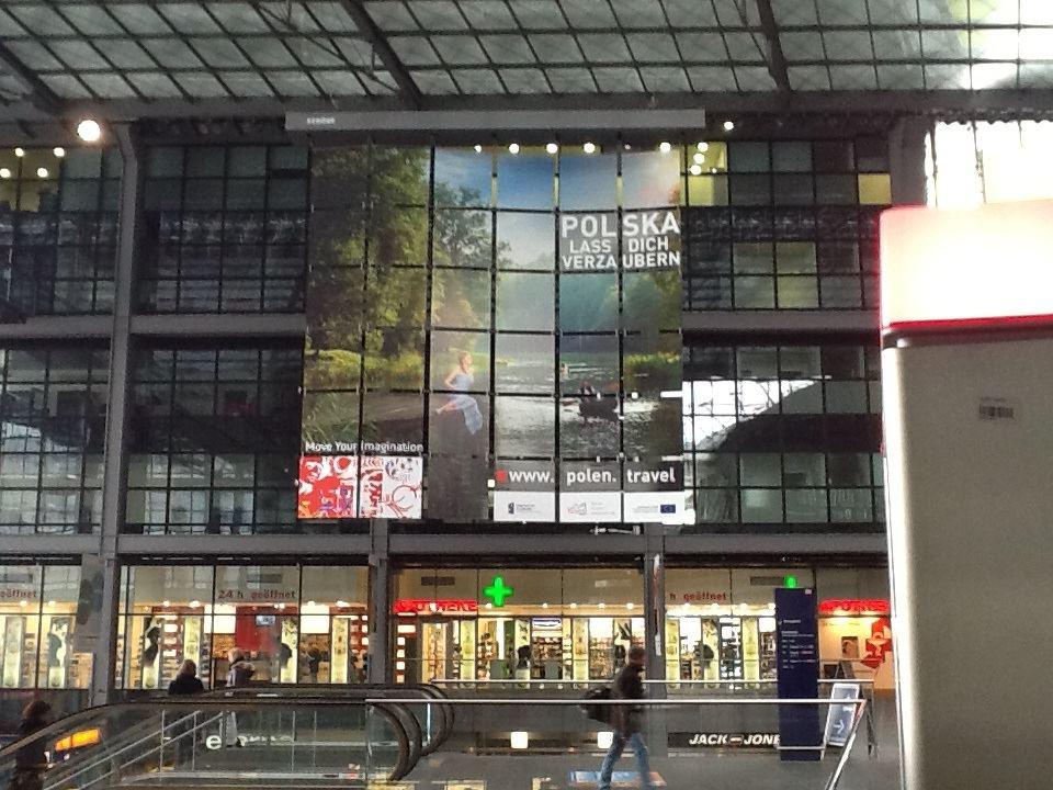 Polen am Berliner Hbf